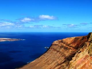 Steilküste auf Lanzarote
